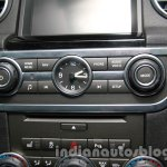 2014 Land Rover Discovery audio system controls at Auto Expo 2014
