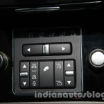 2014 Land Rover Discovery buttons at Auto Expo 2014