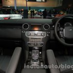 2014 Land Rover Discovery dash at Auto Expo 2014