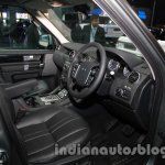 2014 Land Rover Discovery dashboard at Auto Expo 2014