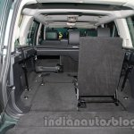 2014 Land Rover Discovery folded seat at Auto Expo 2014