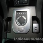2014 Land Rover Discovery gear selector and driving mode selector at Auto Expo 2014