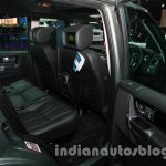 2014 Land Rover Discovery rear seat at Auto Expo 2014