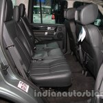2014 Land Rover Discovery rear seat legroom at Auto Expo 2014