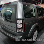 2014 Land Rover Discovery rear three quarters right at Auto Expo 2014