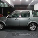 2014 Land Rover Discovery side view at Auto Expo 2014