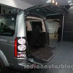 2014 Land Rover Discovery split tailgate at Auto Expo 2014