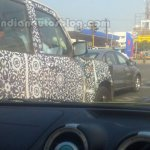2014 Mahindra Scorpio facelift Chennai spied window