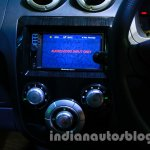 2014 Mahindra e2o information screen on