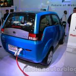 2014 Mahindra e2o rear three quarters