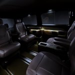 2014 Mercedes-Benz V Class press shot rear seats