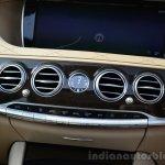 2014 Mercedes S Class review AC controls