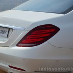 2014 Mercedes S Class review bootlid
