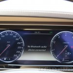 2014 Mercedes S Class review cluster
