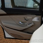 2014 Mercedes S Class review door trim