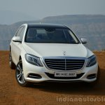 2014 Mercedes S Class review front angle