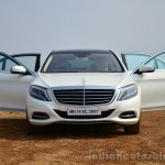 2014 Mercedes S Class review front doors open