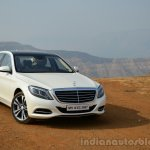 2014 Mercedes S Class review front quarter