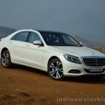 2014 Mercedes S Class review front three quarter