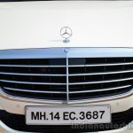 2014 Mercedes S Class review grille