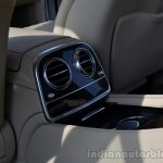 2014 Mercedes S Class review rear AC vents