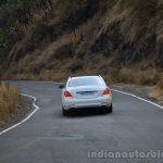 2014 Mercedes S Class review rear angle