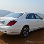2014 Mercedes S Class review rear quarter right