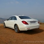 2014 Mercedes S Class review rear quarter