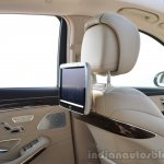 2014 Mercedes S Class review rear screen