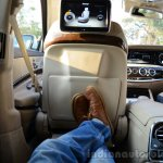 2014 Mercedes S Class review rear seat max legroom