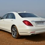 2014 Mercedes S Class review rear three quarter