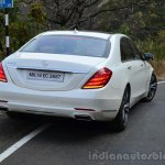 2014 Mercedes S Class review rear with lights