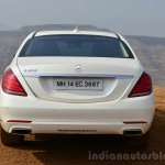 2014 Mercedes S Class review rear
