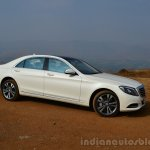 2014 Mercedes S Class review side angle