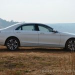 2014 Mercedes S Class review side profile