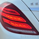 2014 Mercedes S Class review taillight