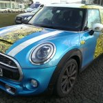 2014 Mini 5-door spied Germany front quarter