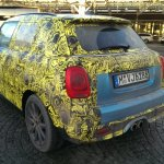 2014 Mini 5-door spied Germany rear quarter