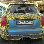 2014 Mini 5-door spied Germany rear