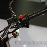 2014 Moto Guzzi V7 Stone Auto Expo 2014 buttons