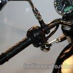 2014 Moto Guzzi V7 Stone Auto Expo 2014 controls