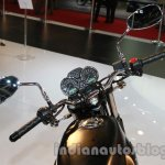 2014 Moto Guzzi V7 Stone Auto Expo 2014 handle
