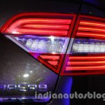 2014 Skoda Superb facelift launch images LED taillights
