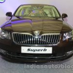 2014 Skoda Superb facelift launch images front