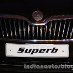 2014 Skoda Superb facelift launch images grille