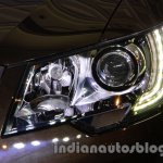 2014 Skoda Superb facelift launch images headlight