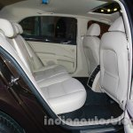 2014 Skoda Superb facelift launch images rear seat
