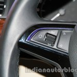 2014 Skoda Superb facelift launch images steering controls
