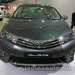 2014 Toyota Corolla front fascia at Auto Expo 2014