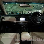 2014 Toyota Corolla dashboard at Auto Expo 2014